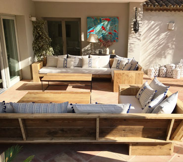 muebles de madera a medida para particulares