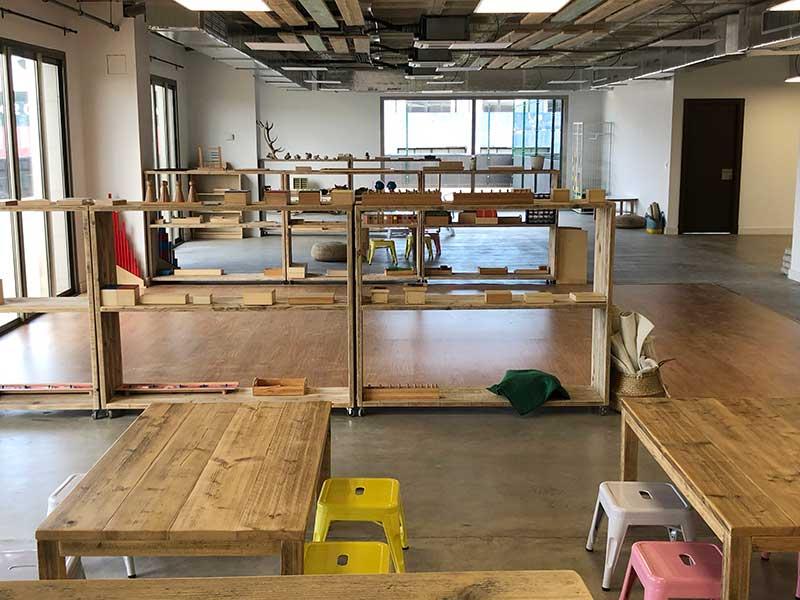 Proyecto en madera Colegio Montessori